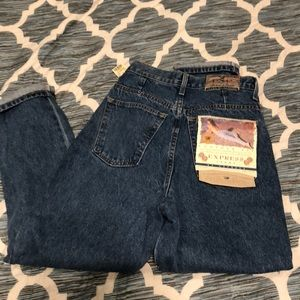 90's Express Jeans High Waisted